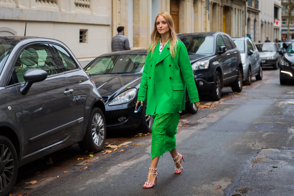 Charlotte Groeneveld proves the power of a solid-color strategy.