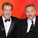 Mel Gibson and Kevin Costner