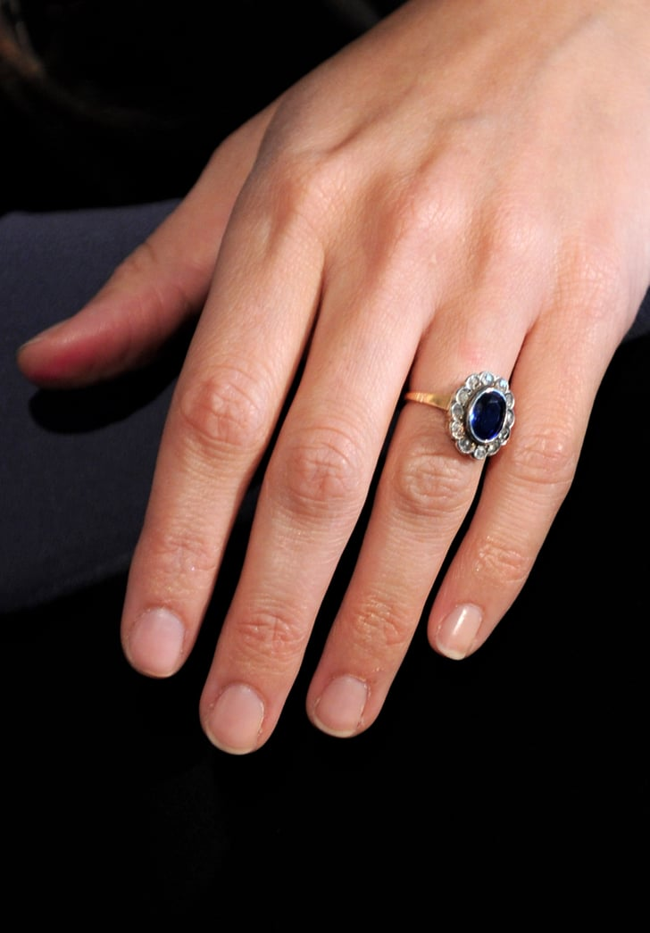 The ring nontraditional celebrity engagement rings for Wedding ring tattoos cost