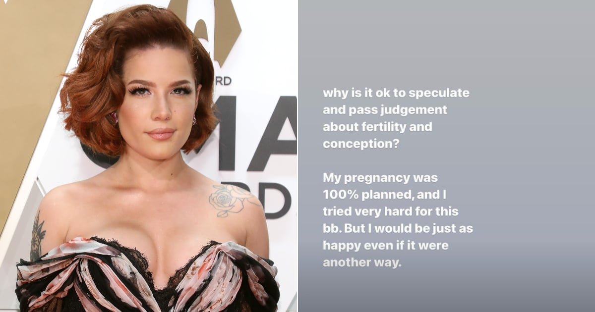 Halsey Reminds Followers That It's Never OK to Speculate on Someone's Fertility or Conception
