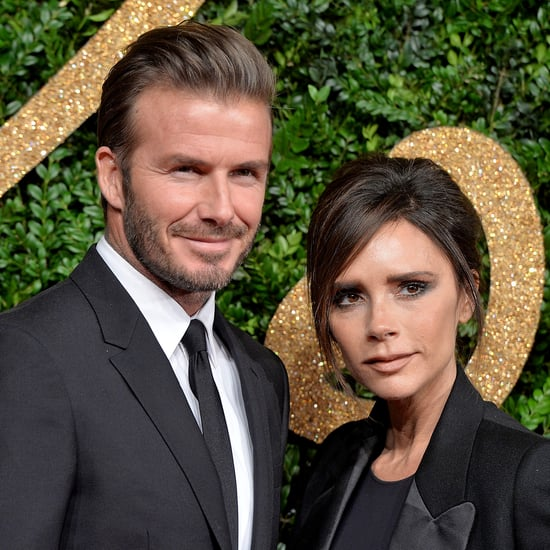 Victoria Beckham Trying to Get Kids to Pose For Holiday Card