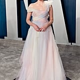 Lucy Boynton at the Vanity Fair Oscars Afterparty 2020