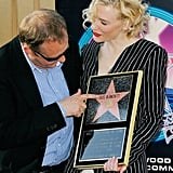 Andrew was with Cate as she got her star on the Walk of Fame in 2008.