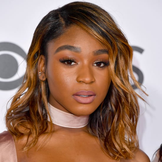 Normani Kordei Hair, Makeup at People's Choice Awards 2017