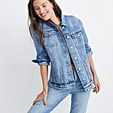 The Oversized Jean Jacket: Daisy Embroidered Edition