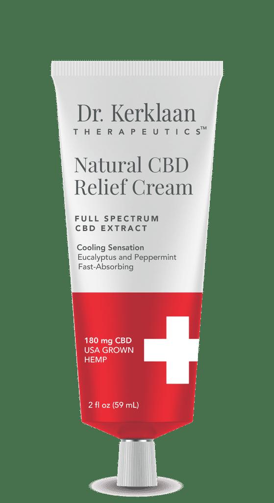 Dr. Kerklaan Natural CBD Relief Cream