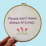 *NSYNC Pun Art