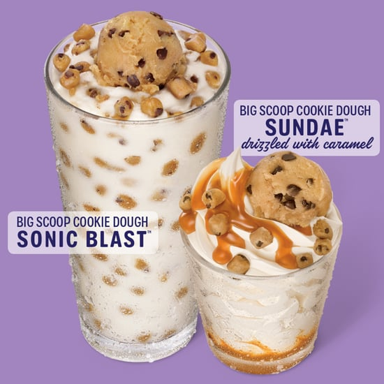 Sonic Big Scoop Cookie Dough Sundae