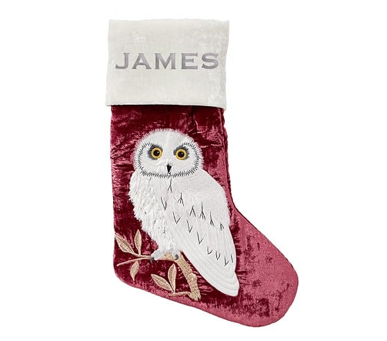 Harry Potter Hedwig Stocking