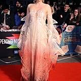 Gwendoline Christie in an Iris van Herpen Illusion Dress