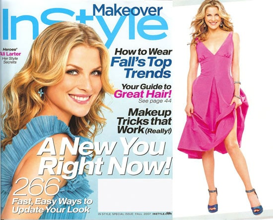 Ali Larter Gets Glam for InStyle
