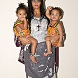 Beyoncé Dressed as Lisa Bonet With Twins Sir and Rumi Carter in 2018