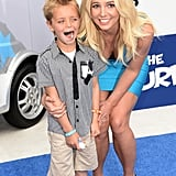 Britney Spears With Her Sons Pictures