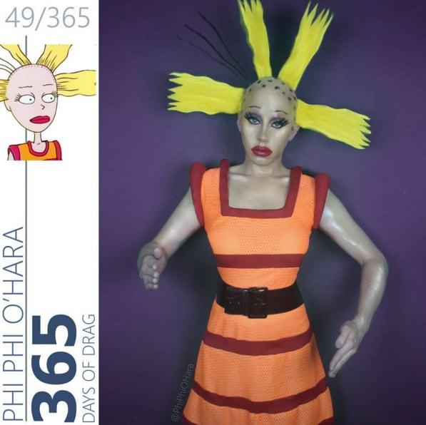 Drag Queen Makeup | '90s Cartoon Characters