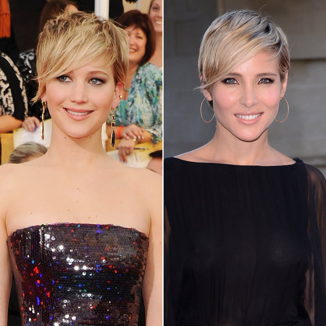 Jennifer Lawrence and Elsa Pataky