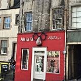 There's even a joke shop on Victoria Street, AHA HA HA Jokes & Novelties, that brings to mind both Weasleys' Wizard Wheezes and Zonko's Joke Shop (in Hogsmeade).