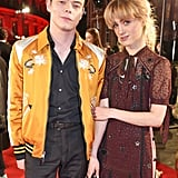 Charlie Heaton and Natalia Dyer