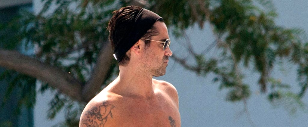 Your Weekend Plans Should Include Seeing Colin Farrell in a Speedo