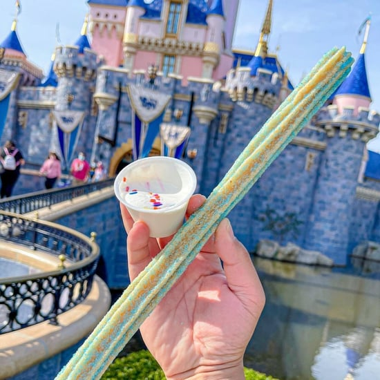 Disneyland Has a New Baby Blue Celebration Churro