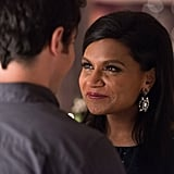 Danny (Chris Messina) and Mindy share a moment.