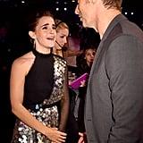 Emma Watson at the 2017 MTV Movie and TV Awards