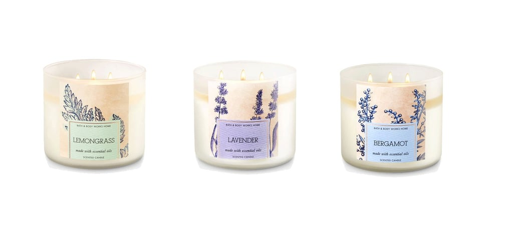 bath body works all natural essential oil candles popsugar home rh popsugar com