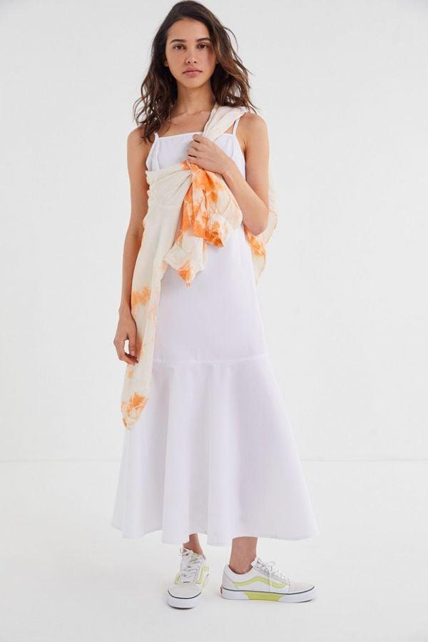 d74b77bcfe4 Urban Renewal Remnants Poplin Tiered Midi Dress | Best Travel ...