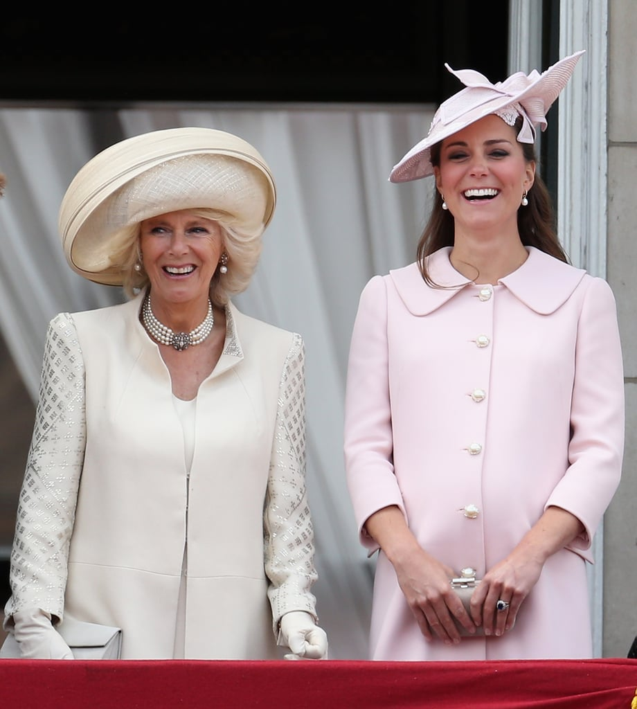 "Camilla: ""I've been sticking my gum on this balcony for years — honestly, no one ever notices."""