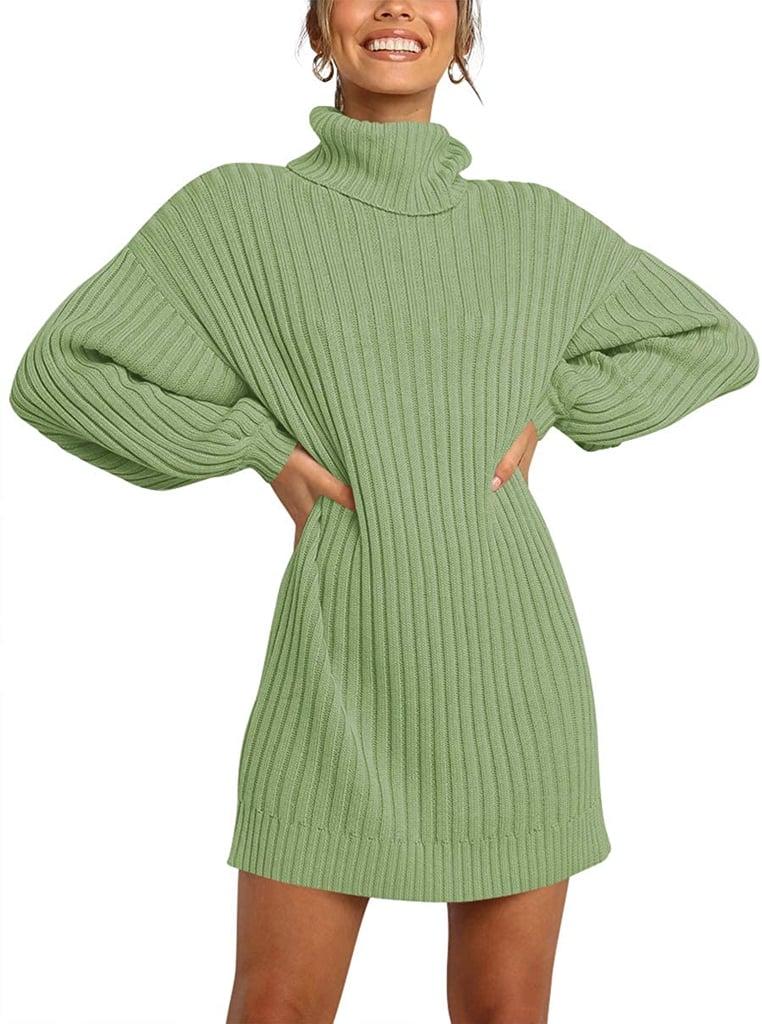 Logene Turtleneck Sweater Dress