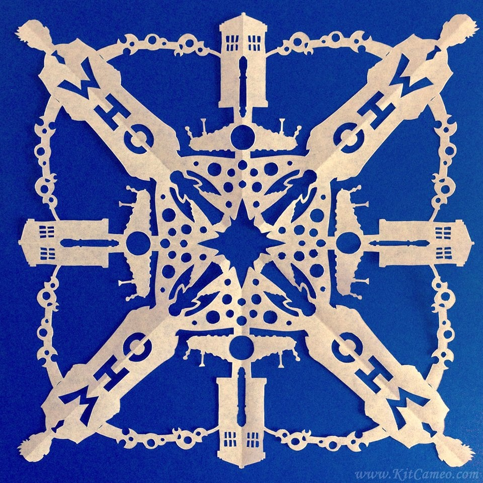 Geeky Snowflake Patterns Popsugar Tech