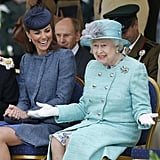 "The Queen: ""I Know, Seriously — She Just Won't Stop Laughing!"""