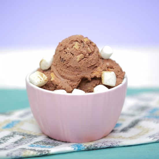 S'mores Nice Cream Recipe
