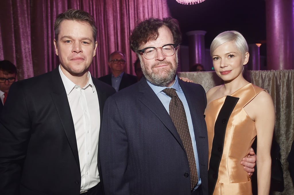 Matt Damon, Kenneth Lonergan, and Michelle Williams