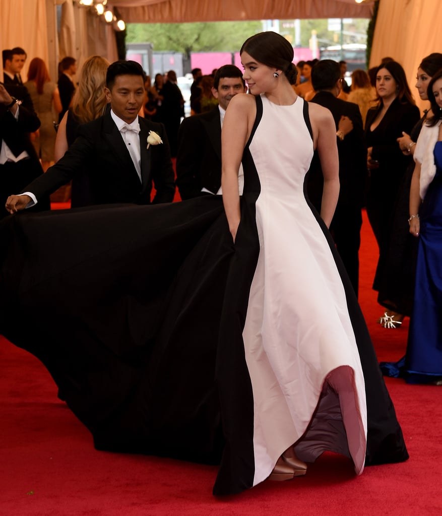 Hailee Steinfeld in Prabal Gurung at the 2014 Met Gala