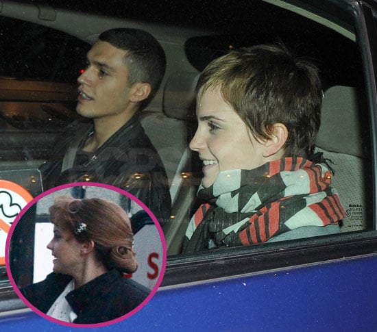 Pictures of Emma Watson and Mystery Man