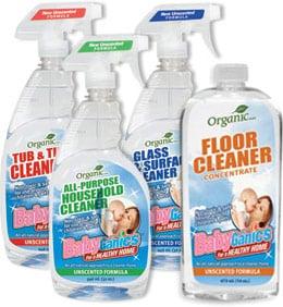 BabyGanics Cleaning Supplies