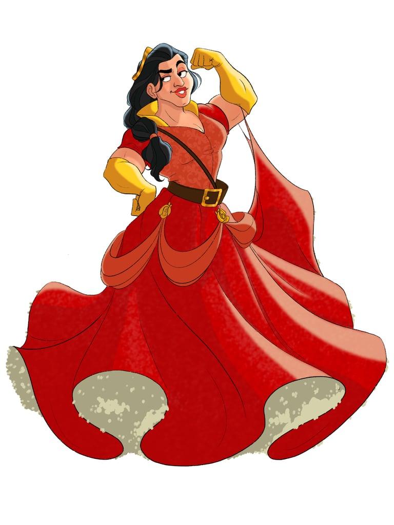 TikTok Artist Reimagines Disney Villains as Princesses