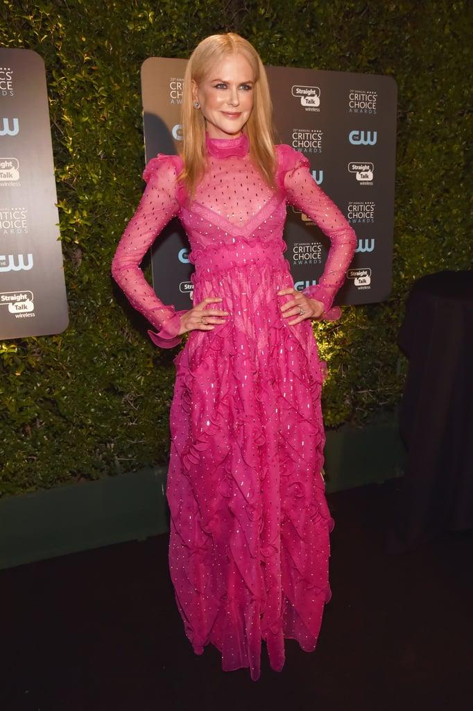Nicole Kidman's Dress at the 2018 Critics' Choice Awards