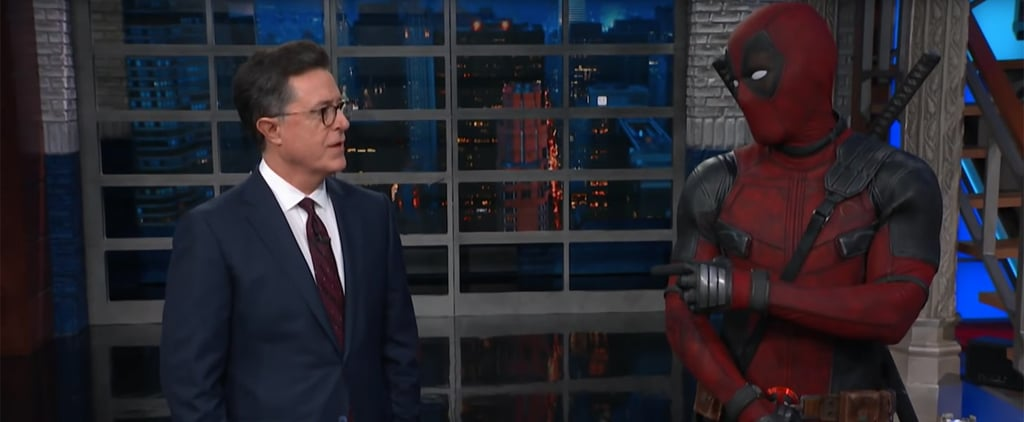 Deadpool on The Late Show With Stephen Colbert Video 2018