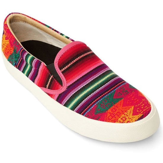 Inca-Print Shoes