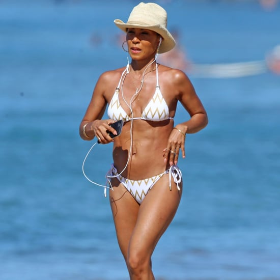 Jada Pinkett Smith Bikini Pictures in Hawaii January 2017