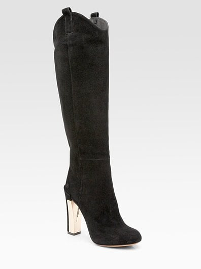 Paradis Suede Knee-High Boots ($600)