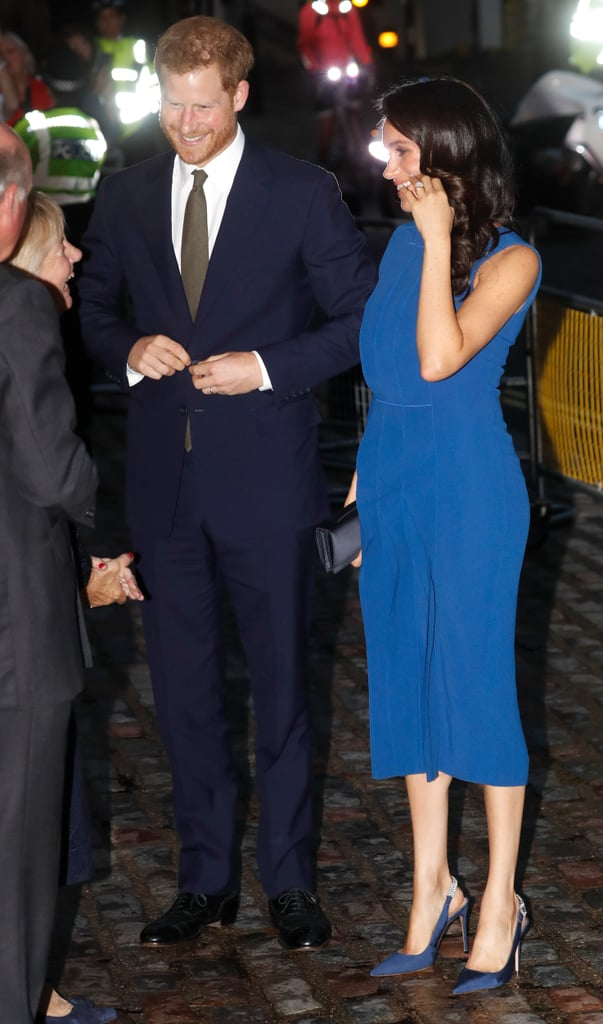 Prince Harry and Meghan Markle at 100 Days to Peace Concert