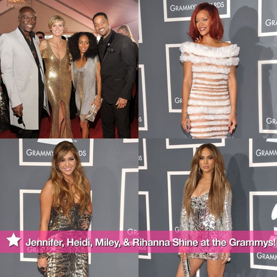 Pictures of Kelly Osbourne, Selma Blair, Eva Longoria, John Mayer, Jennifer Hudson at the 2011 Grammys