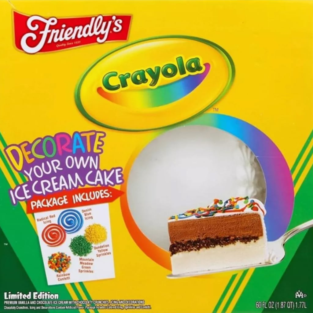Crayola's Decorate-It-Yourself Ice Cream Cake at Target