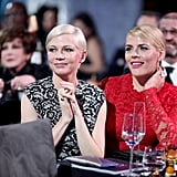 Busy Philipps and Michelle Williams at 2017 Critics' Choice