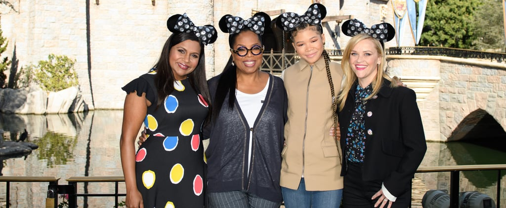 Mindy Kaling Makes First Appearance Since Becoming a Mom at the Happiest Place on Earth