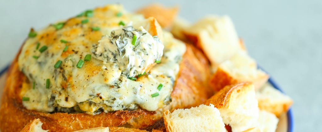This Artichoke, Spinach, and Jalapeño Dip Is Quite Accurately Damn Delicious
