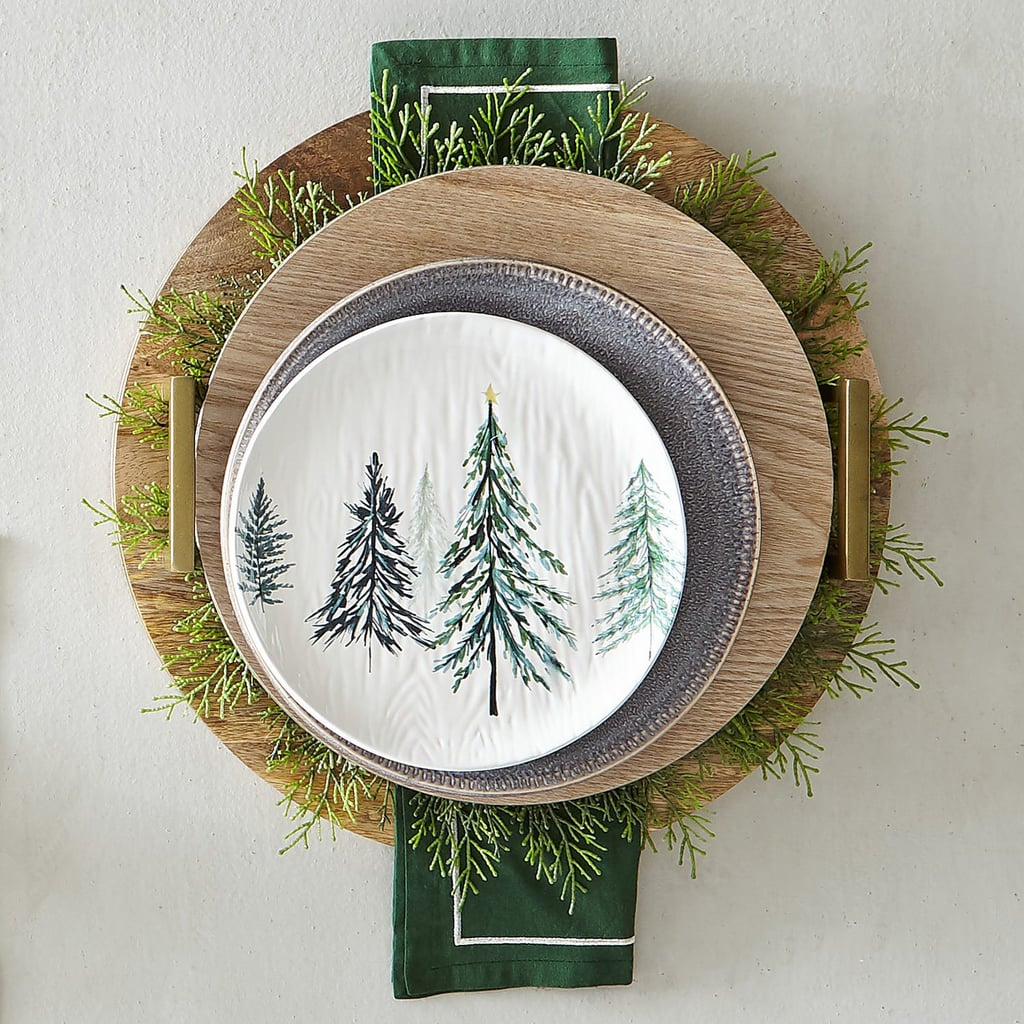 All Spruced Up Dinnerware Salad Plate