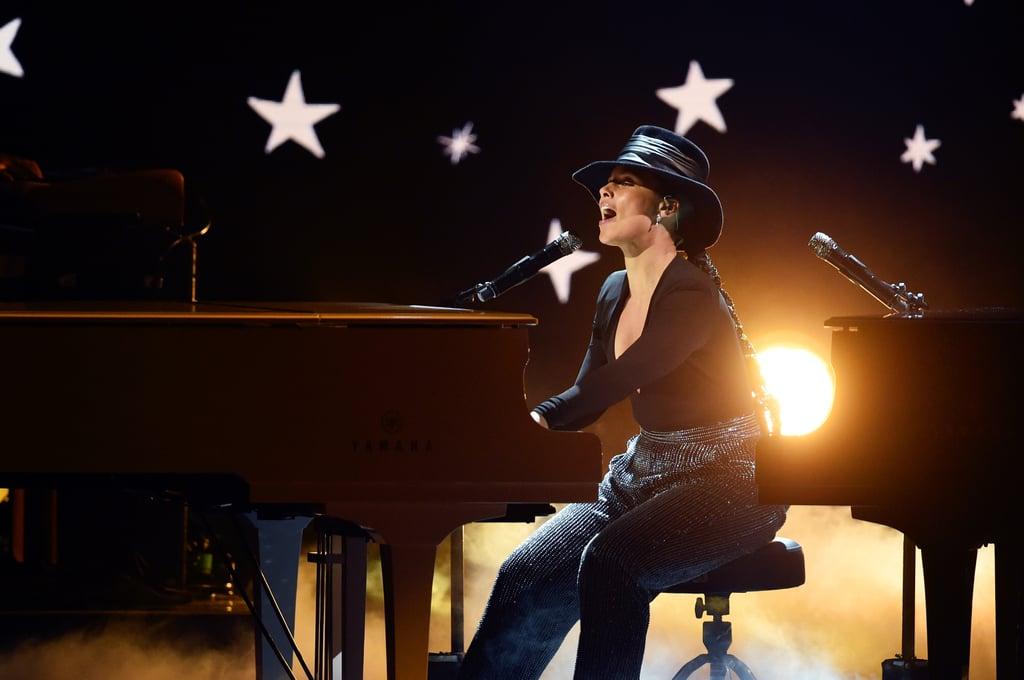 Alicia Keys's Piano Performance at 2019 Grammy Awards